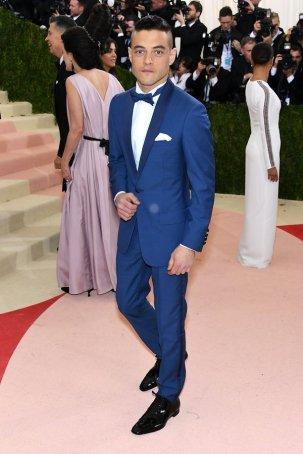 Rami Malik in Dior Homme