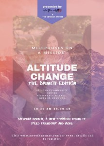 The Altitude Change Brunch/Milspouse on a Mission Event in England