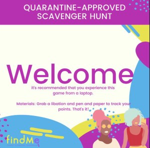 The Quarantine-Approved Virtual Scavenger Hunt: How to Play