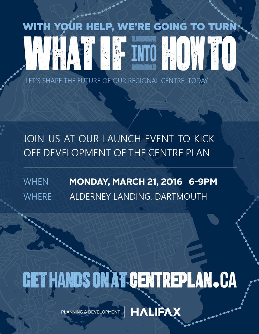 HRM Centre Plan Kickoff
