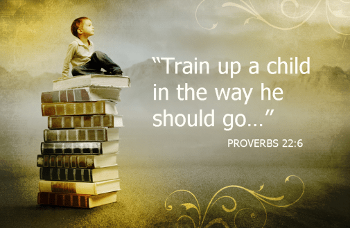 Training Your Child: Taking the Pressure Off Proverbs 22:6