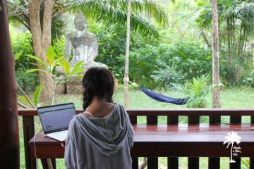 Digital Nomad Coworking Space Ko Hub on Koh Lanta Thailand
