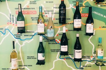 Robertson Wine Valley Map South Africa