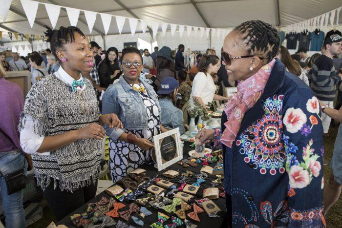 Vendors at I Heart Market in Durban