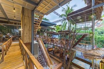Rainforest Cafe in Nha Trang, Vietnam
