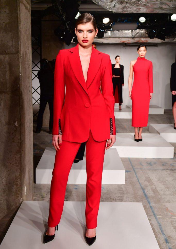 Tara Rvias at Toronto Fashion Week 2018