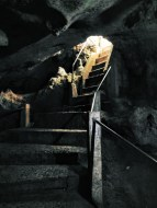 The stairs to the cave.