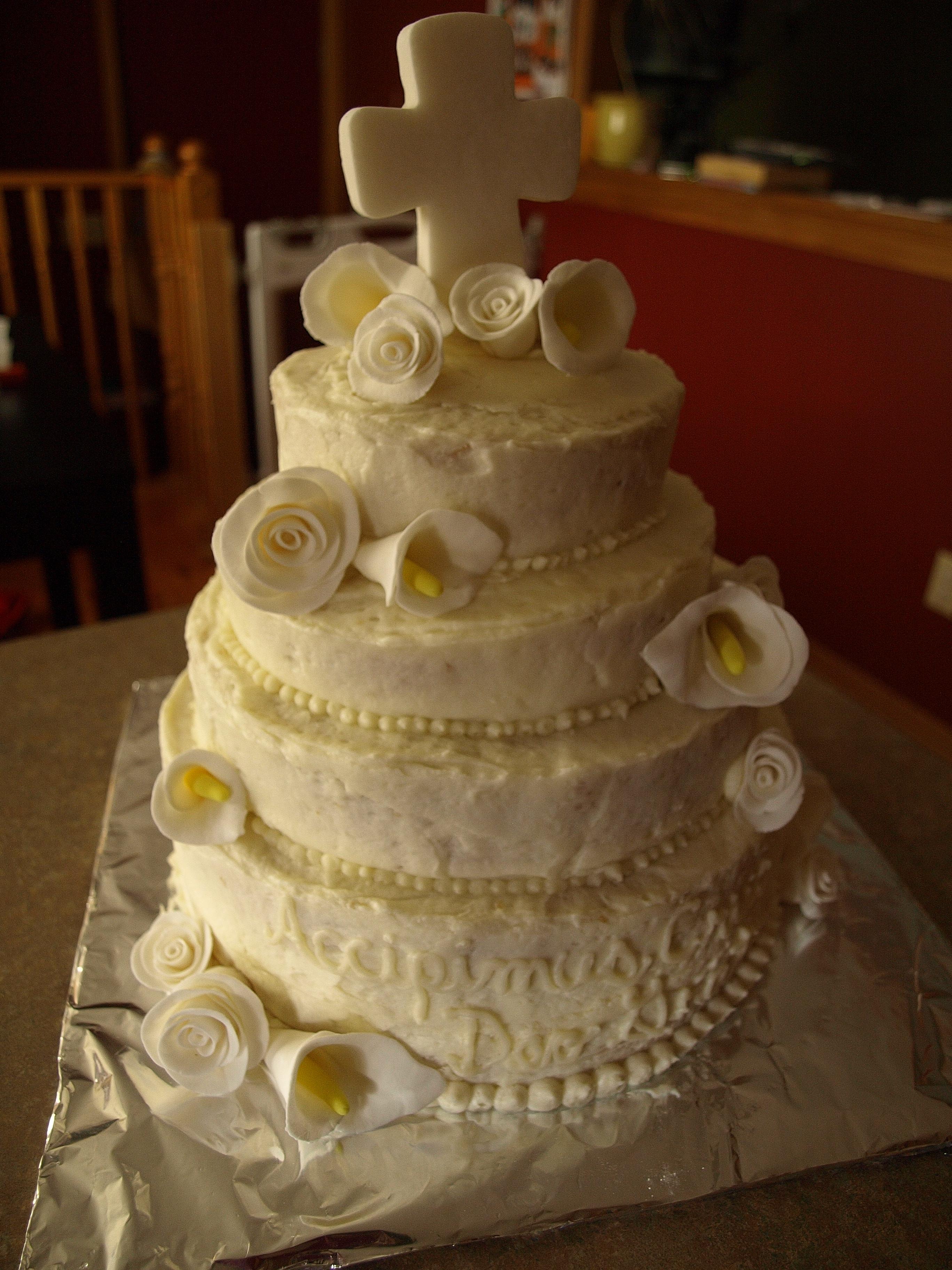 Religious Celebration Cakes Beautiful Food
