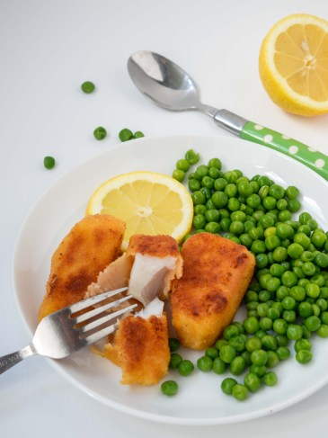 Fish Fingers from More Than Just Carrots