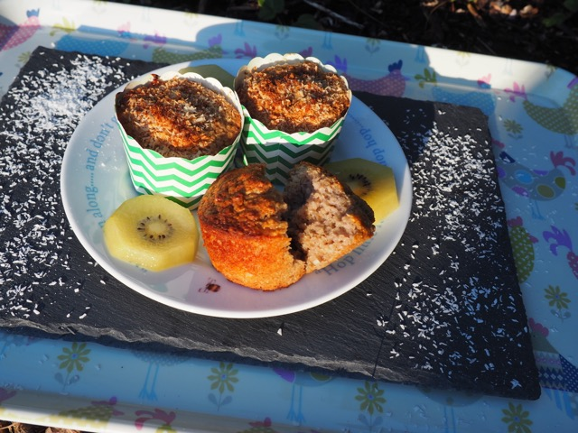 Banana and coconut muffin from More Than Just Carrots