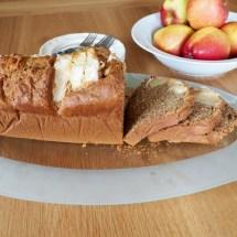 Healthier apple cake
