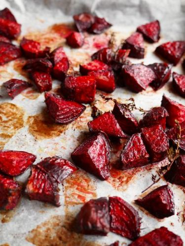 Roasted beetroot from More Than Just Carrots