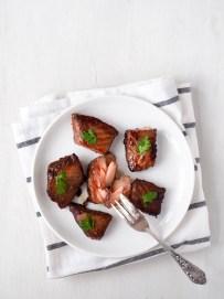 Marinated salmon by Severien Vits