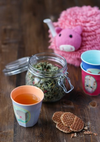 Herbal tea for kids from More Than Just Carrots