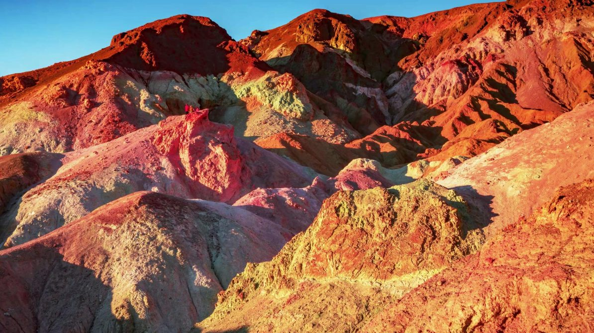artists palette sunset death valley national park