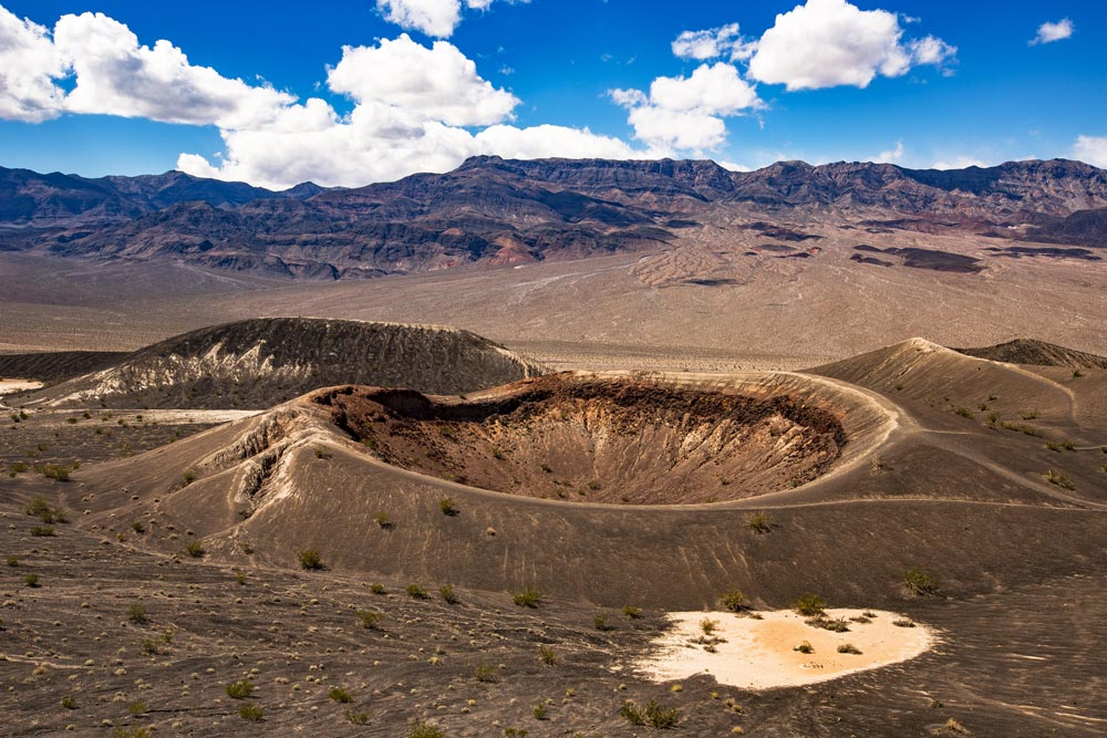 little ubehebe crater death valley national park