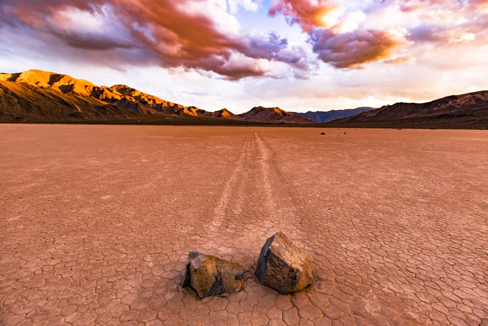 racetrack playa death valley national park california