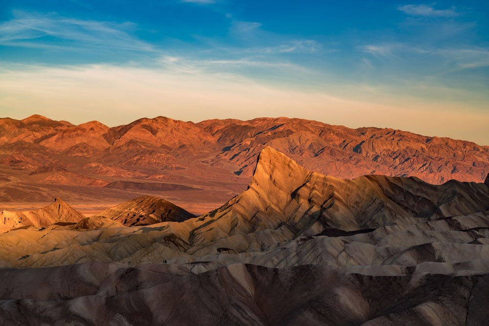 zabriskie point best things to do death valley national park, california