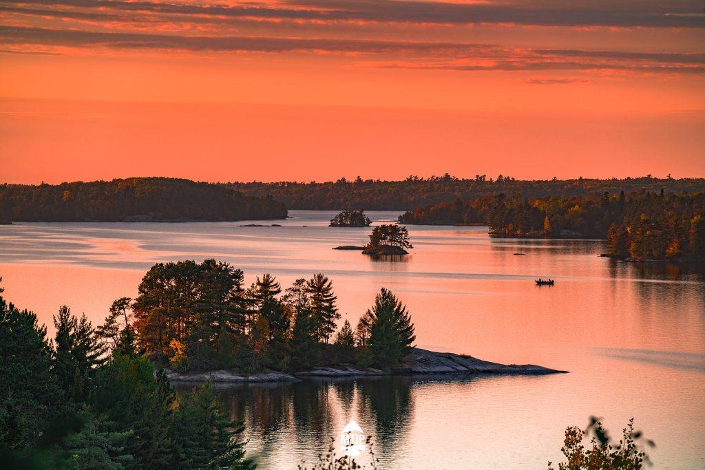 Kabetogama Lake Overlook Voyageurs National Park