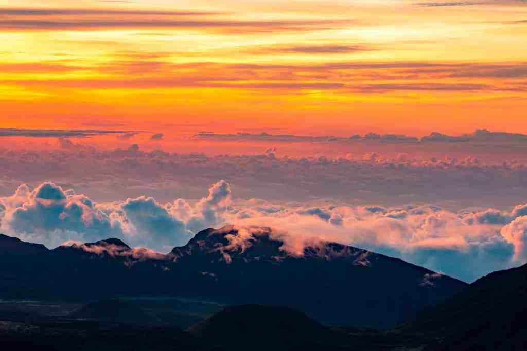 Haleakala Summit Sunset