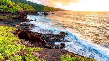 haleakala national park sunrise maui, hawaii