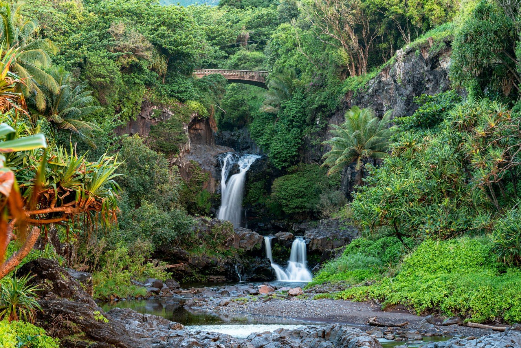 Pools of Oheo haleakala national park maui, hawaii