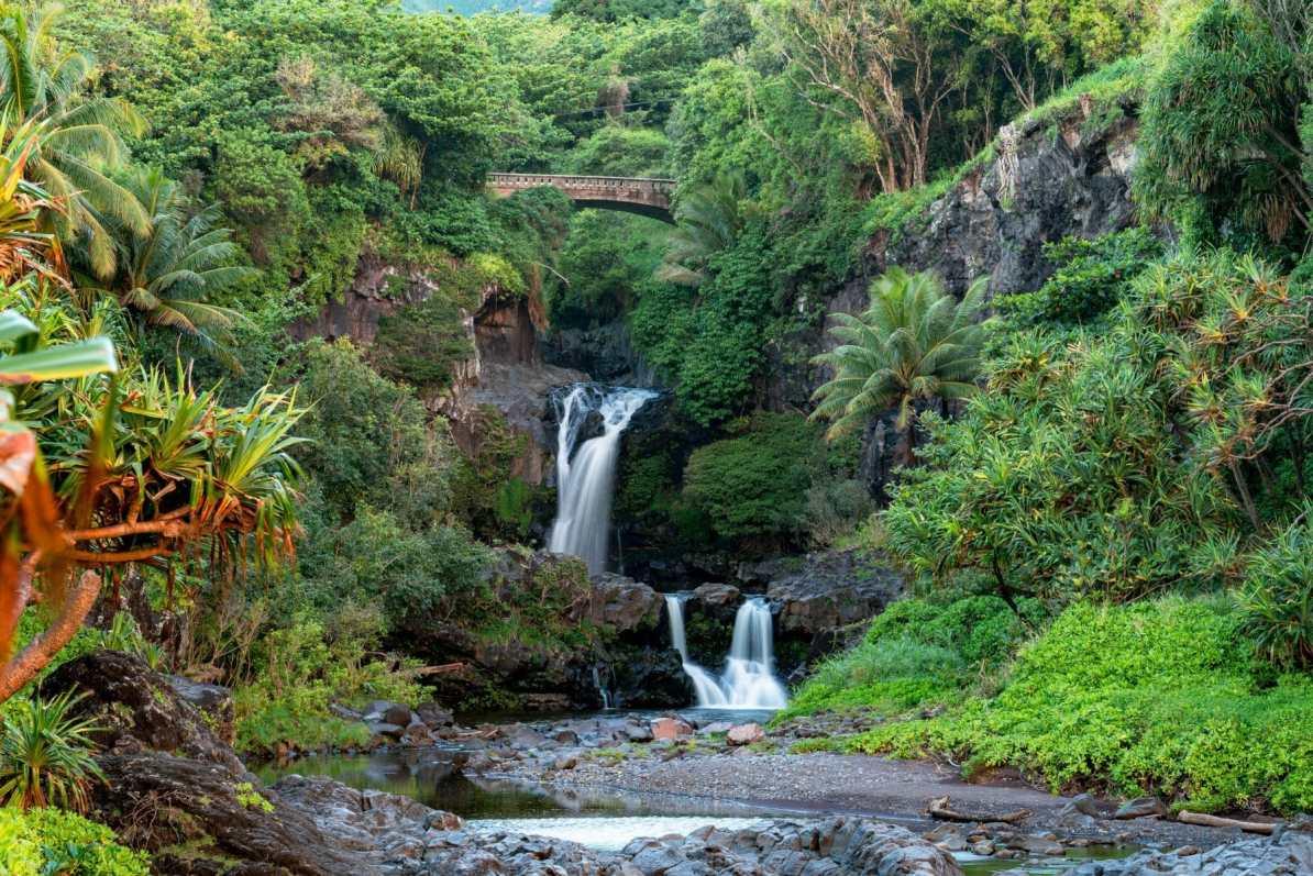 Pools of Oheo haleakala national park