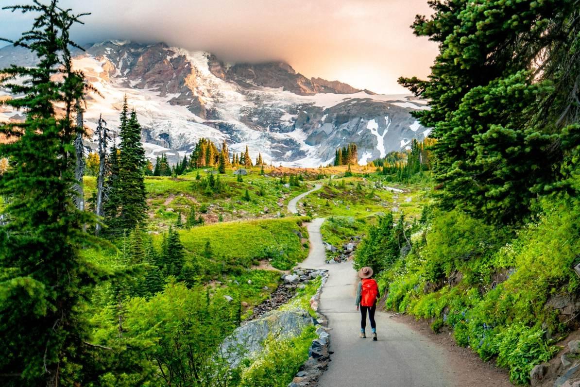 skyline trail, mount rainier national park washington, best national parks