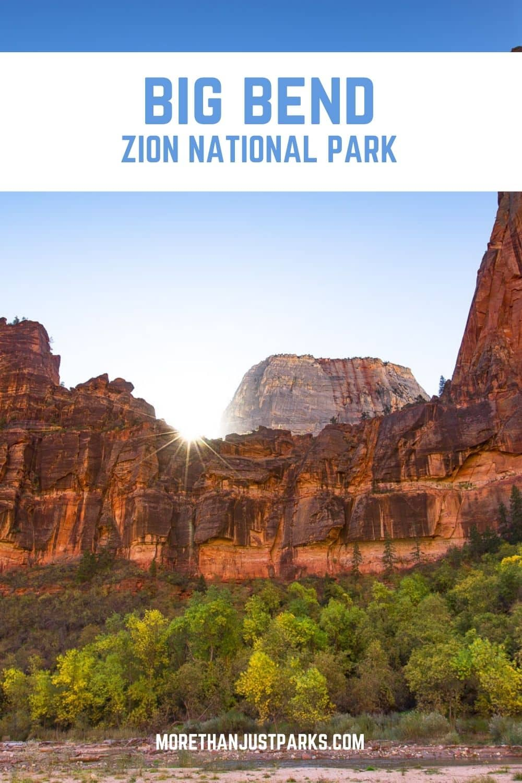 big bend zion national park