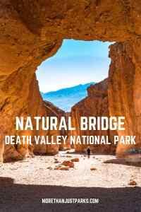 natural bridge death valley national park
