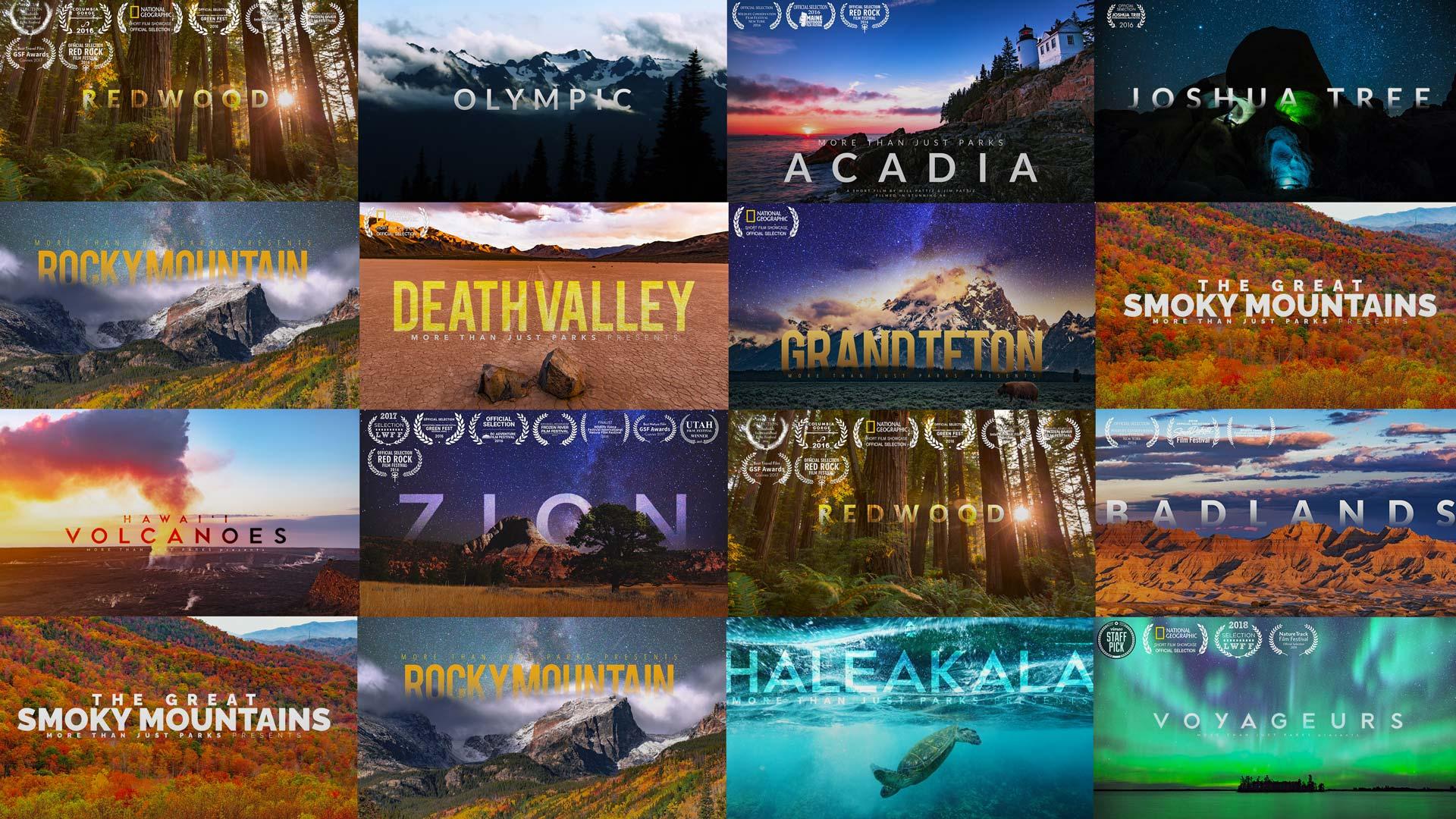 national park videos