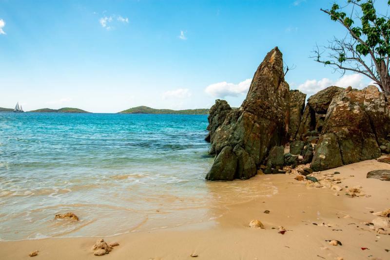 honeymoon beach st john virgin islands national park