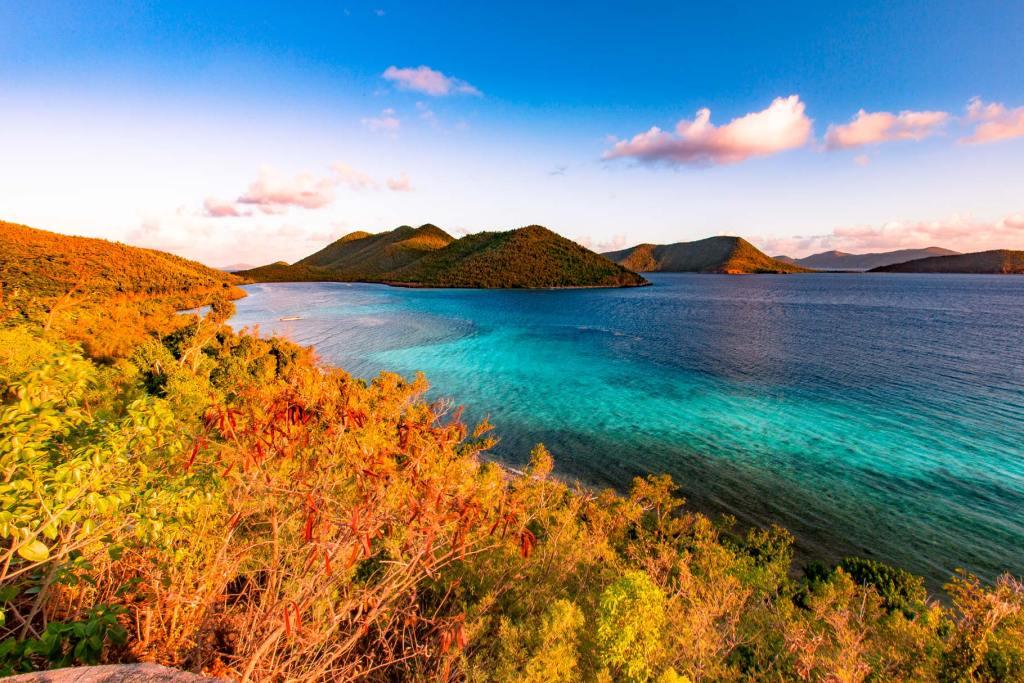 virgin islands national park sunrise annaberg plantation ruins