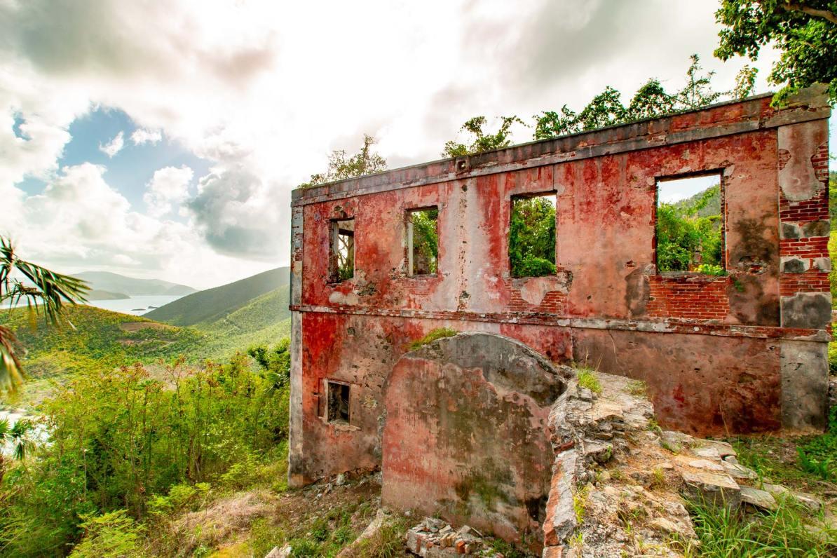 america hill ruins st john virgin islands national park