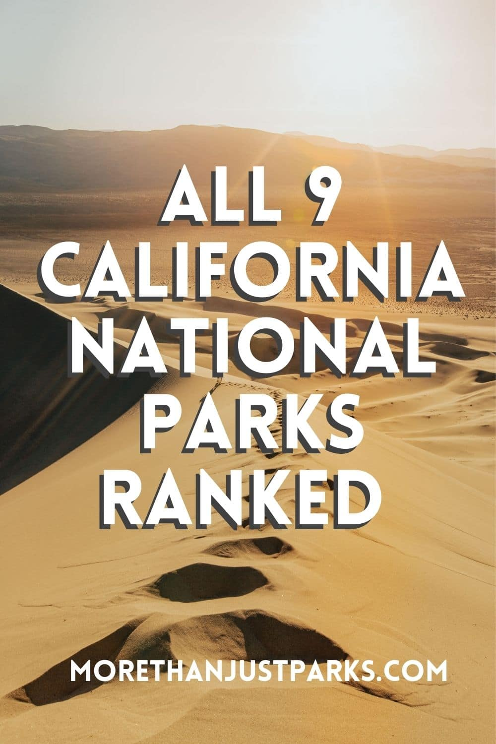 california national parks ranked