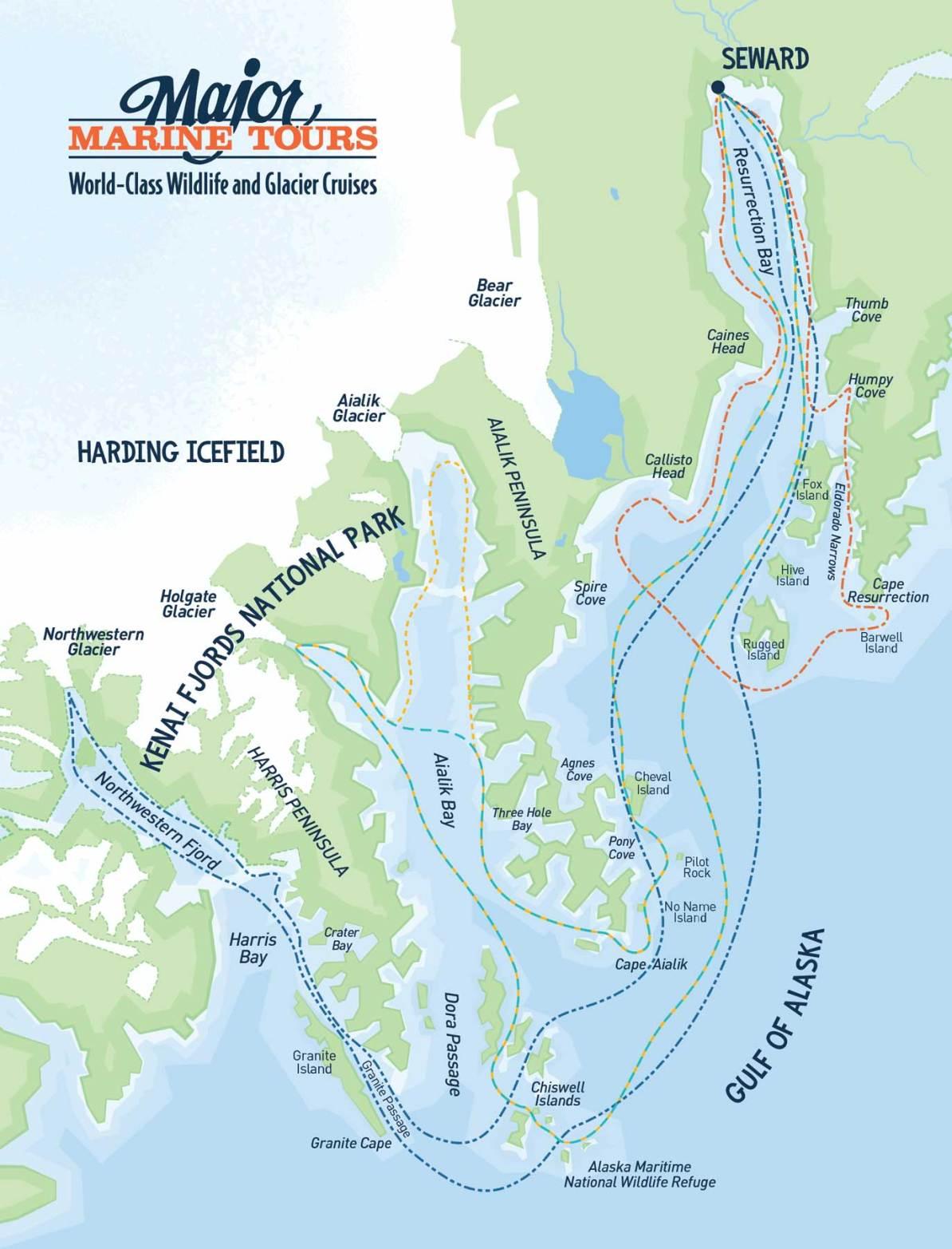 kenai fjords ferry tour