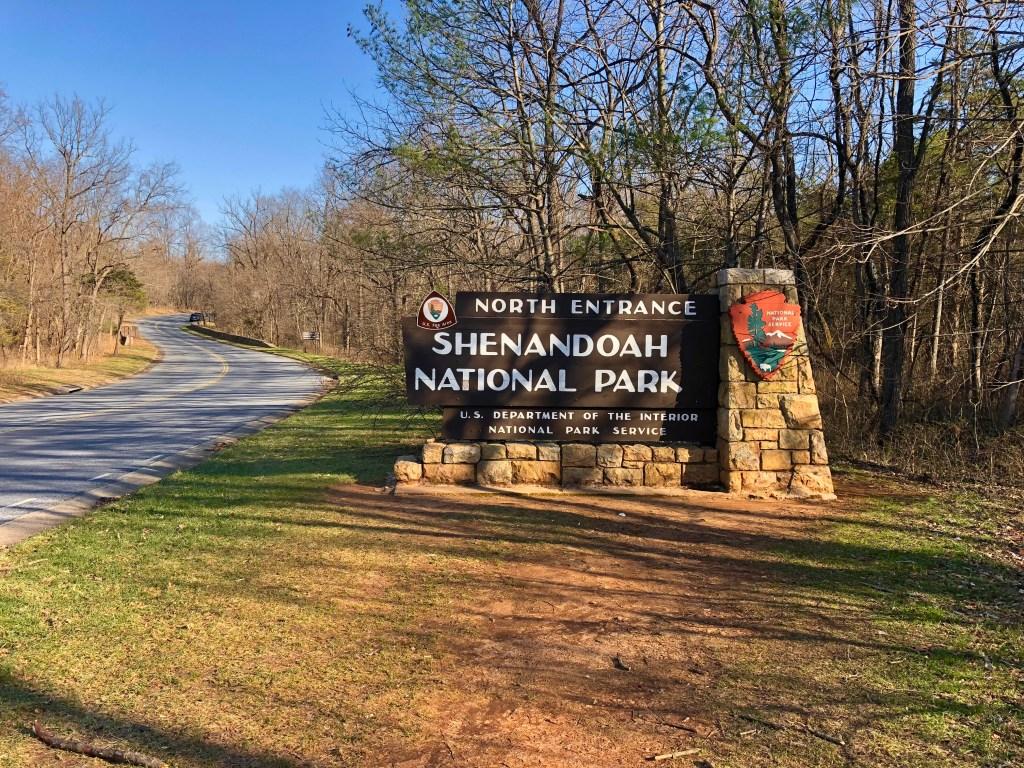 shenandoah national park, best east coast national parks