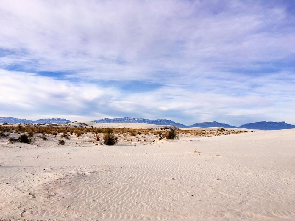 white sands national park, best national parks
