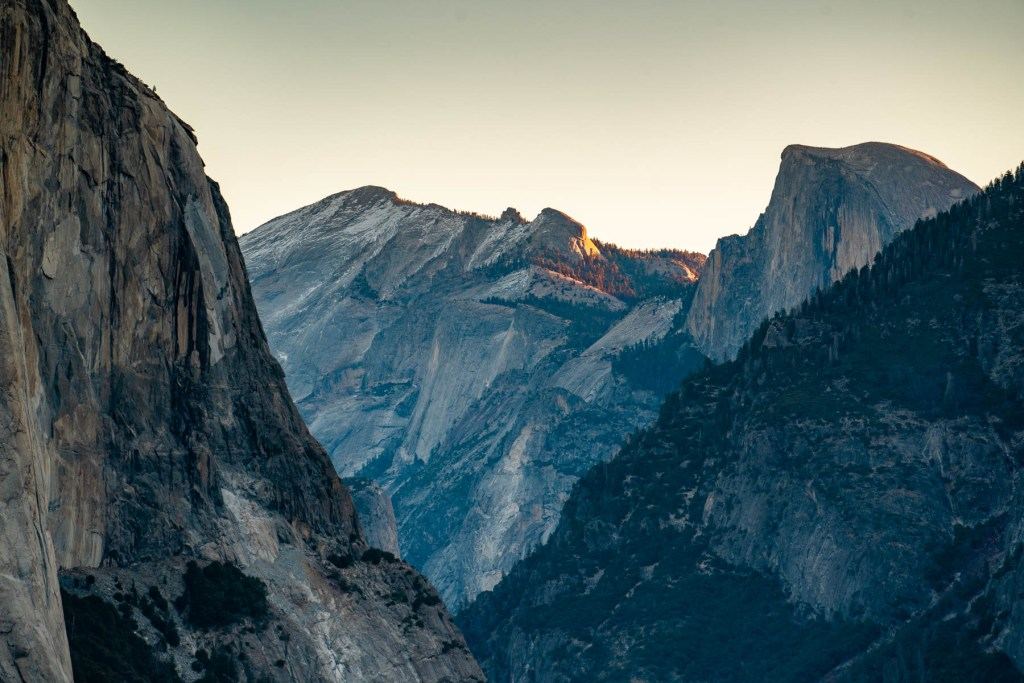 tunnel view yosemite national park california