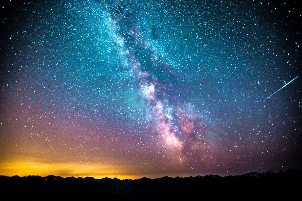 hurricane ridge stars olympic national park washington