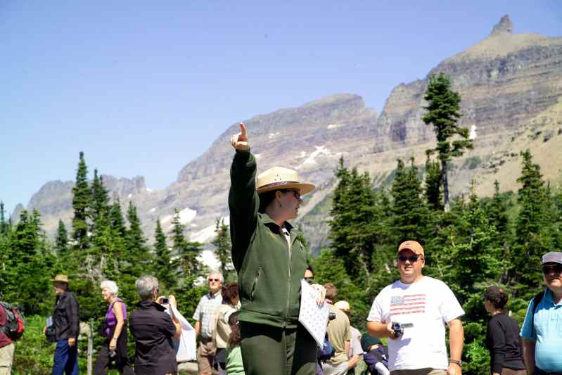 The dynamic duo professionalized the park service