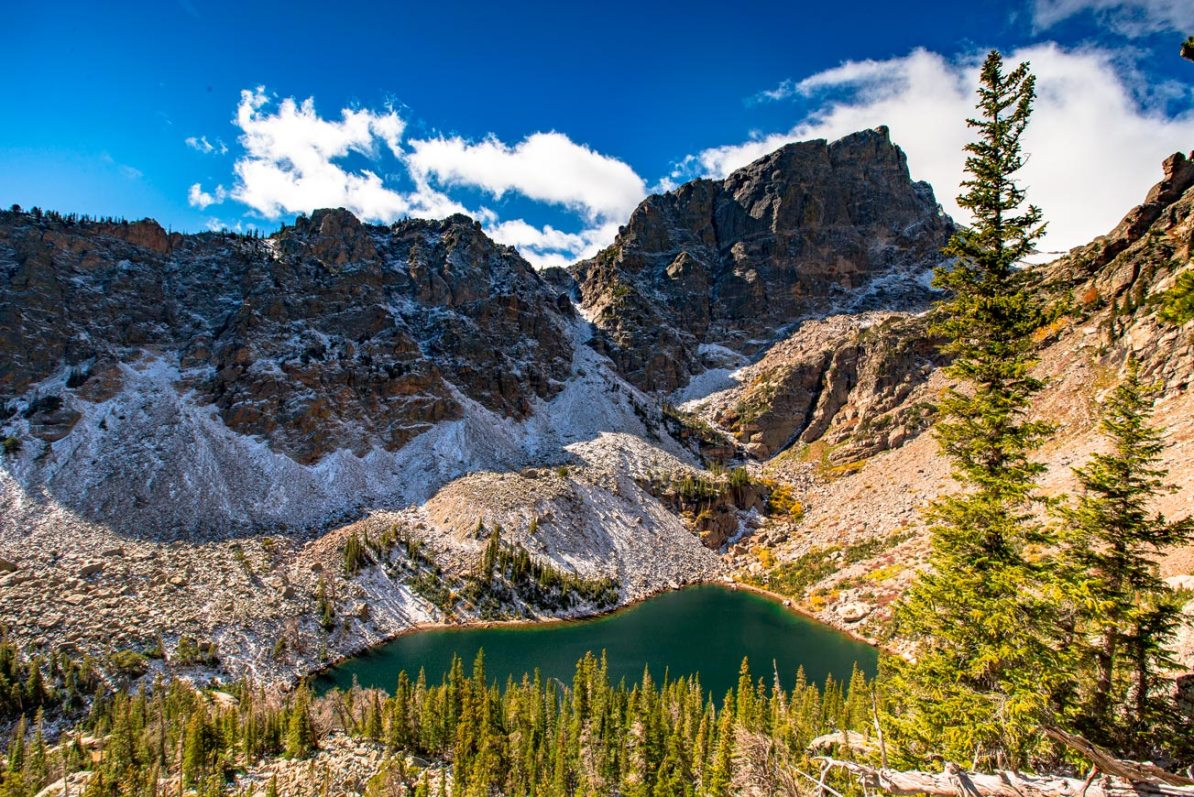 emerald lake hike rocky mountain national park colorado