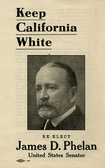 James Phelan led the fight to dam the Hetch Hetchy.