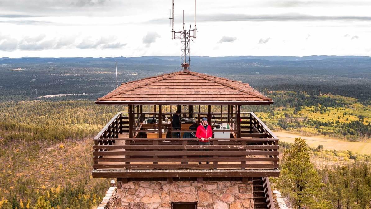 cemetery ridge lookout black hills national forest south dakota
