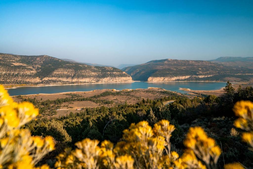 joes valley reservoir manti la sal national forest utah