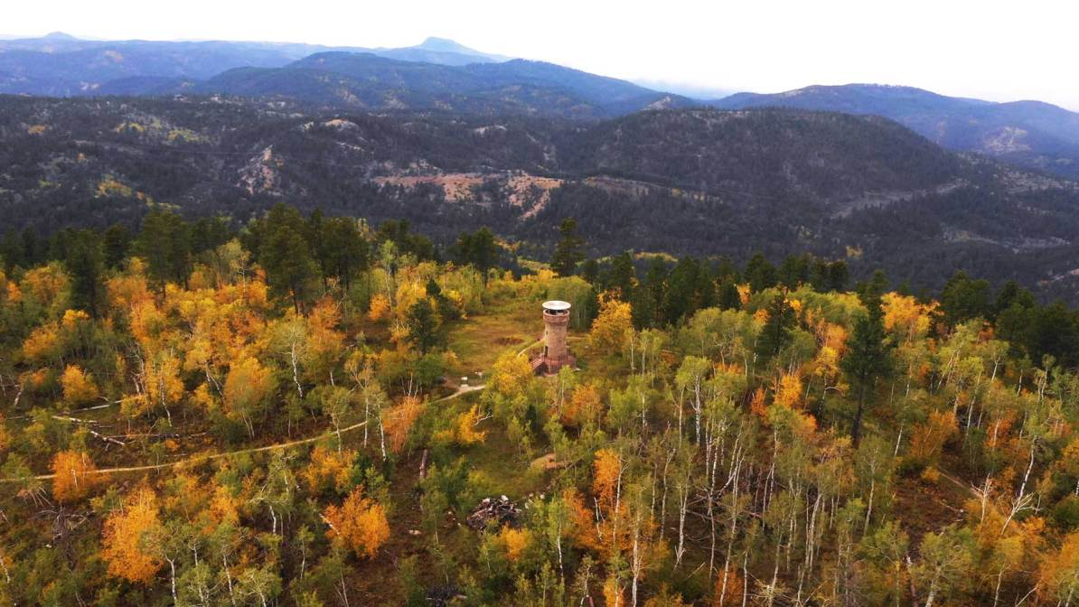 bullock lookout tower black hills national forest south dakota