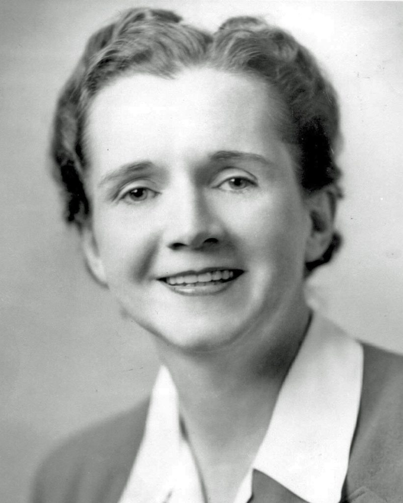 Rachel Carson, along with Aldo Leopold and George Perkins Marsh produced three of the most important works of the environmental movement.