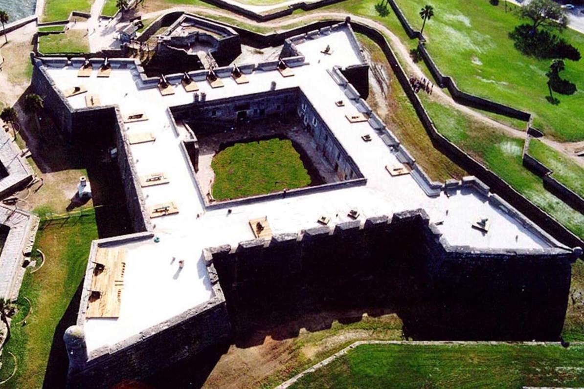 castillo de san marcos florida national parks