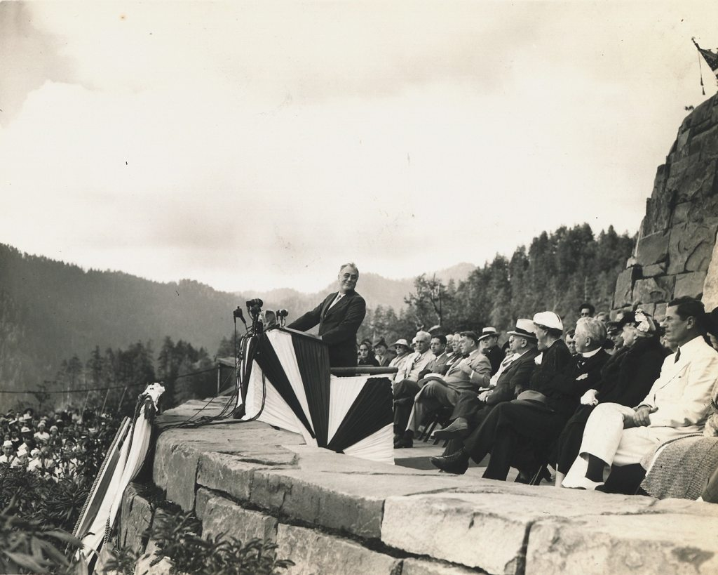 FDR at Great Smoky Mountains