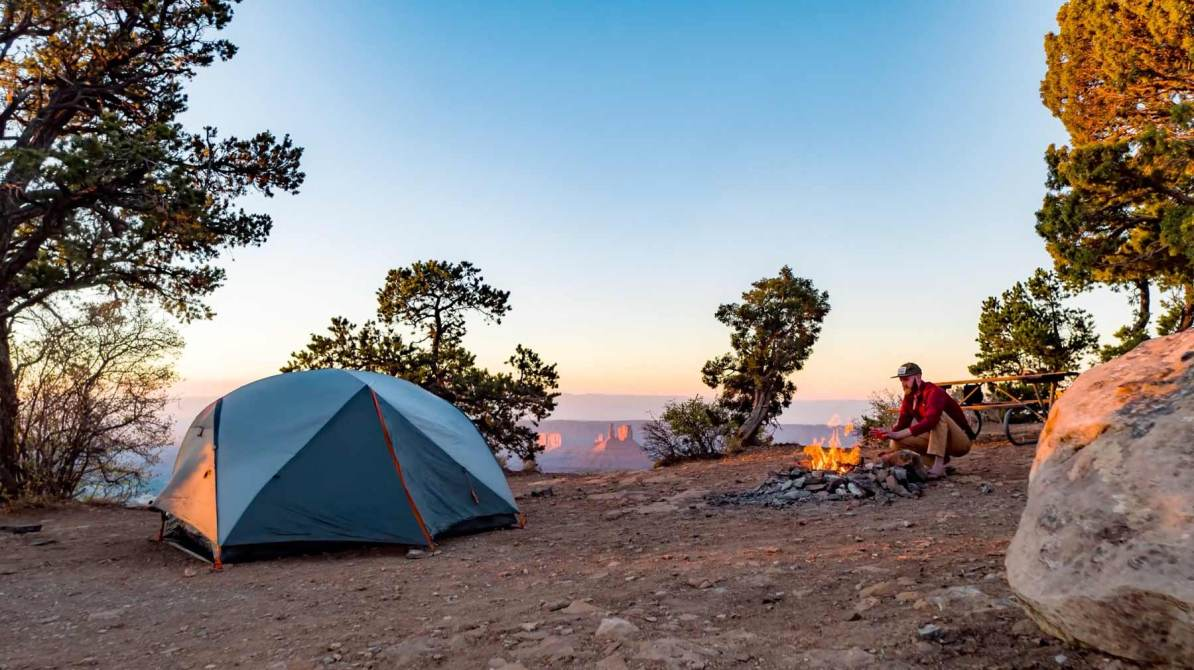 manti la sal national forest campsite